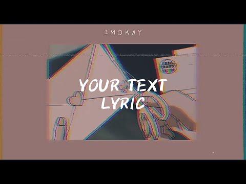 your text - sundial | LYRICS