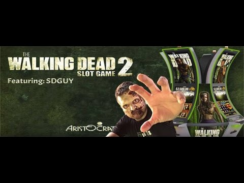 Casino Realness with SDGuy - Behind the Scenes of Walking Dead Slot Machine - Episode 56