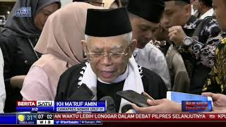 Ma'ruf Amin Dapat Anugerah Sesepuh Tokoh Agama Masyarakat Sunda