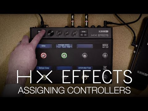 HX Effects Assigning Controllers