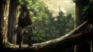 進撃の巨人MAD 21話、リヴァイ班 ACIDMANの「風が吹く時」 進撃の巨人を...