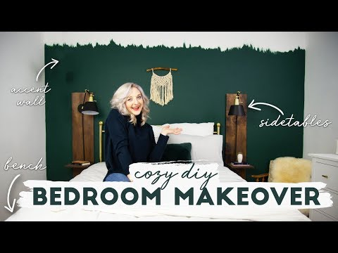 Cozy DIY Bedroom Makeover Collab feat. Alexandra Gater
