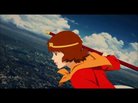Paprika (2006) Flying Scene  [HD]