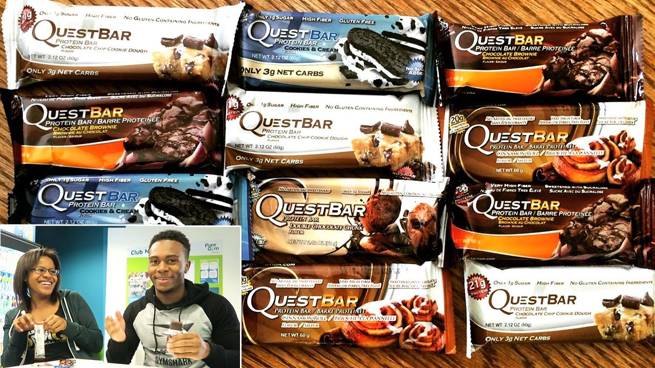 Quest bar taste