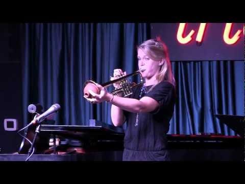"Bria Skonberg performs original song ""Hip Check"" at Iridium Jazz Club, NYC"