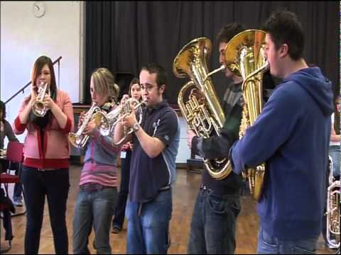 BBC Discovering Music - University of Salford Brass Band