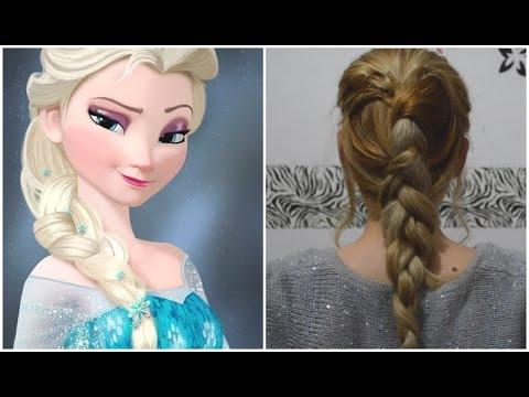 Peinado Princesa Elza Frozen Mariafernandamv Youtube