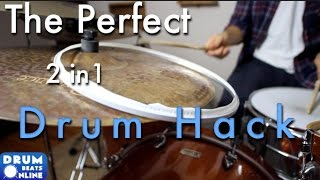 The Perfect 2-In-1 Drum Hack - Drum Lesson | Drum Beats Online