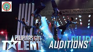 Pilipinas Got Talent Season 5 Auditions: Dino Splendid - All-Male Acrobat Group