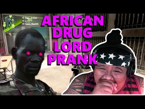 [REACTION] African Drug Lord TERRIFIES people on Black Ops - EP3