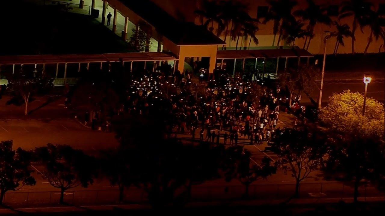 Raw: Vigils in Florida Honor Shooting Victims