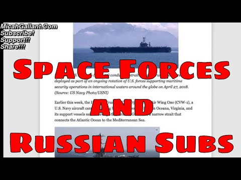 US Star Force and Russian Sub Hunting in the Atlantic