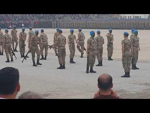 İZMİR-Foça Komando Yemin Töreni/Askeri Gösteri