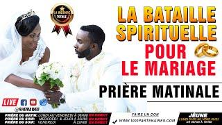 La bataille spirituelle dans le mariage - Prière du matin