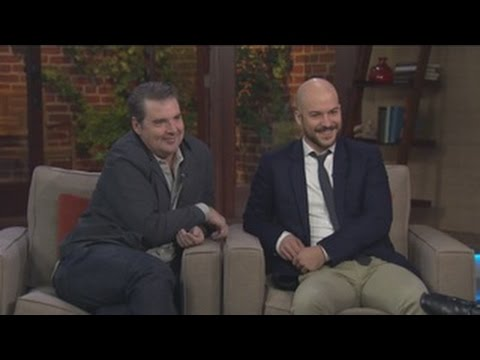 Brendan Coyle and Marc-Andre Grondin of 'Spotless'