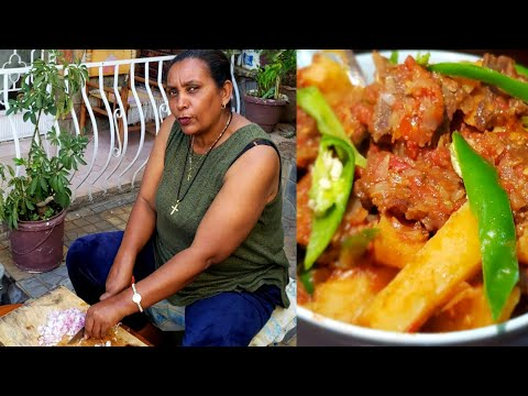 News Magazine Ethiopian Food: የእናቴ ምርጥ ድንች በስጋ አሰራር