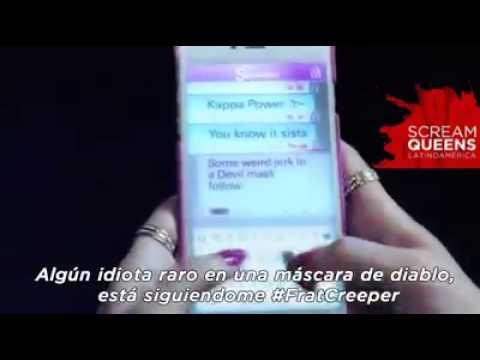 Scream Queens Trailer Sub Español slasher a través del tiempo