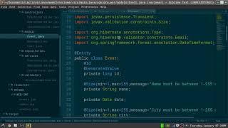 Java Spring Events Belt Reviewer Part 2