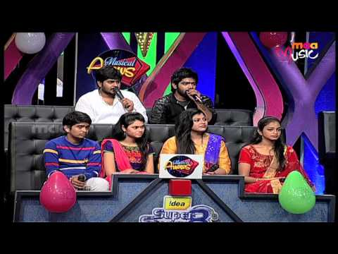 Super Singer 8 Episode 27 - Anirudh and Anurag Performance