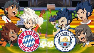 Inazuma Eleven UCL ~ Bayern Muenchen vs Manchester City ※Pokemon Anchor※