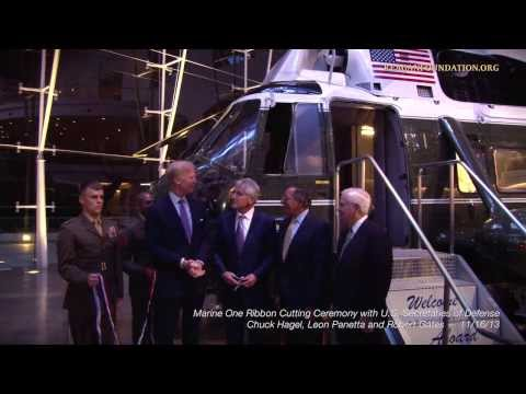 Inside the Reagan Library: Marine One