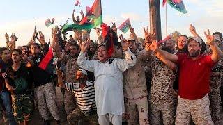 قوات حكومة الوفاق الليبية تلاحق فلول داعش في سرت