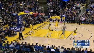 3rd Quarter, One Box Video: Golden State Warriors vs. Indiana Pacers