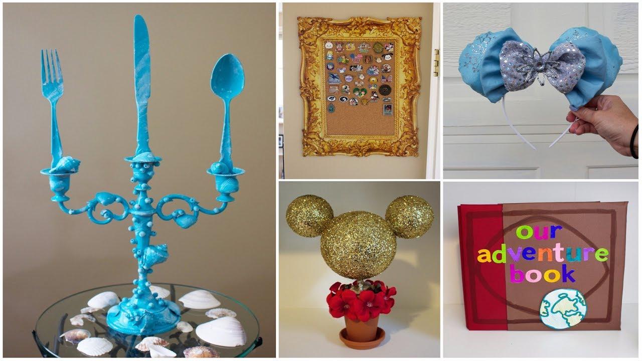 Cheap Easy Disney Diy Crafts 8 Pinterest Inspired Youtube