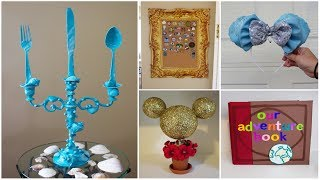 CHEAP & EASY DISNEY DIY CRAFTS #8 | PINTEREST INSPIRED