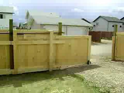 how to build proper fence