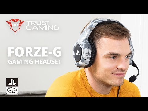 GXT 488 Forze-G PS4 Gaming Headset PlayStation® official licensed product - grey