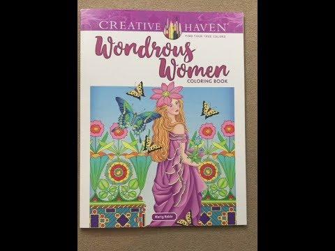 wondrous-women-(marty-noble)---creative-haven-flip-through