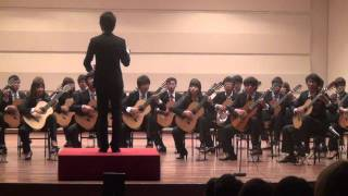 """Alla Hornpipe"" from Water Music - G. F. Handel (Guitar Ensemble)"