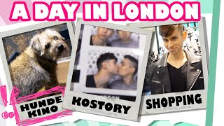 HUNDE-KINO und SHOPPING Tour :D - KOSTORY-Tag in London
