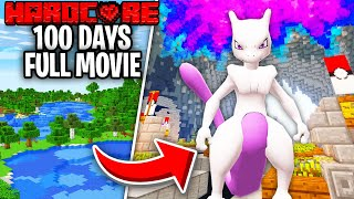 I Survived 100 Days on Minecraft Pixelmon And This Is What Happened - Pokelands - Skyes