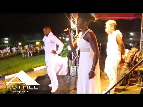 Akothee Empire Palacial White & Gold Party