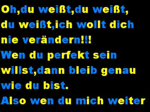 AlexiBexi-Just a way you are auf Deutsch! (+Lyrics)