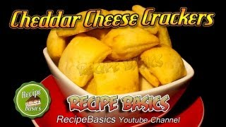 Cheddar Cheese Crackers Recipe ! - Home Made !