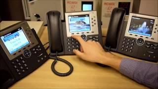 IP телефония Cisco. Курс CCNA Voice. Демонстрация Call Features(, 2014-04-13T06:55:02.000Z)