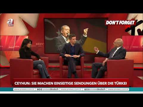 Ozan Ceyhun: Sie machen einseitige Sendungen über die Türkei |A NEWS DEUTSCH