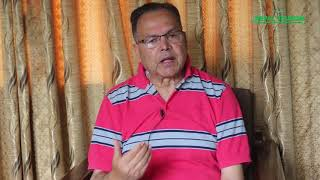 Jhalanath Khanal, Former Prime Minister in Tourism Talk with Tourism Journalist Tek B. Mahat