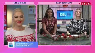 Gwen Stefani Interview on Daily Blast Live, November 28, 2017