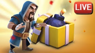 LIVESTREAM | BIRTHDAY BOOM FARMING WITH MINERS | Clash of Clans
