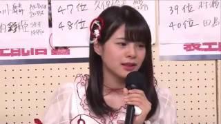 本間日陽 号泣  AKB48総選挙2017直後インタビュー 柏木由紀 NGT48