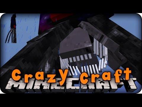 Minecraft Mods - CRAZY CRAFT - Ep # 15 ' THE KRAKEN FIGHT!' (Orespawn Mod)