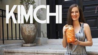 How To Make Vegan Kimchi Super Easy, 4 Ingredients, 5 Minutes, 2-5 Days Waiting, Saves Money