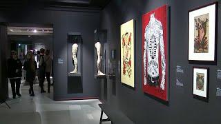 Выставка, посвященная татуировкам, открылась в Пушкинском музее.