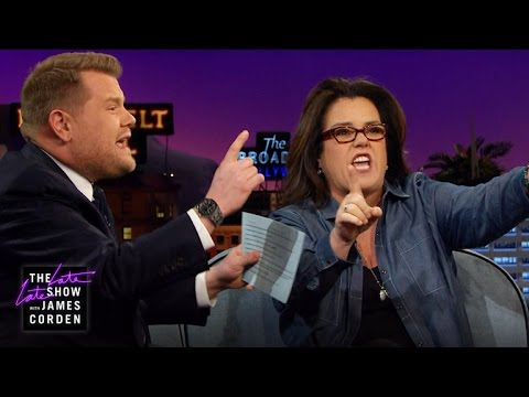 Rosie O'Donnell & James Corden Rap
