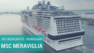 MSC Meraviglia: Rundgang - Das neue Schiff auf einen Blick