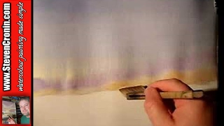 """Misty River"" Part 1 Watercolour Painting Demonstration"